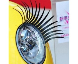 Eyelashes for car